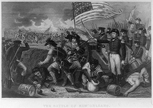HistoricalFindings Photo: Battle of New Orleans,General Andrew Jackson,War of 1812,Soldiers,Louisiana
