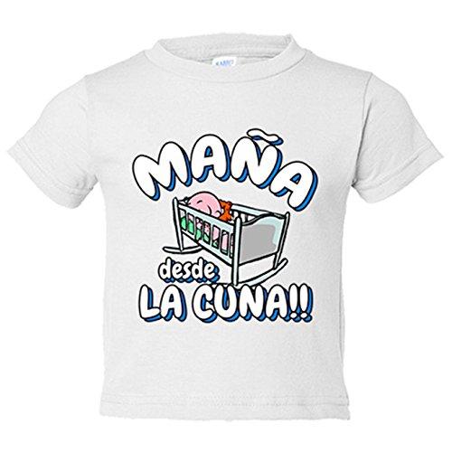 Camiseta niño Maña desde la cuna Zaragoza fútbol - Blanco, 5-6 años