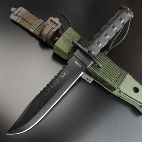 AITOR 16016. Cuchillo supervivencia Aitor Jungle King I - Negro