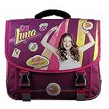 Mochila Soy Luna Friends and Skate 38 cm 2 Compartimentos