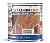 Stormdry impregnante hidrófugo para humedades por filtración de agua - 1L - Proporciona 25 años de protección contra la humedad penetrante