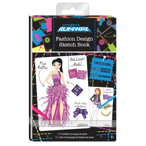 Project Runway Fashion Design Mini Sketch Book Buy Online In Gibraltar Unknown Products In Gibraltar See Prices Reviews And Free Delivery Over Gip50 Desertcart