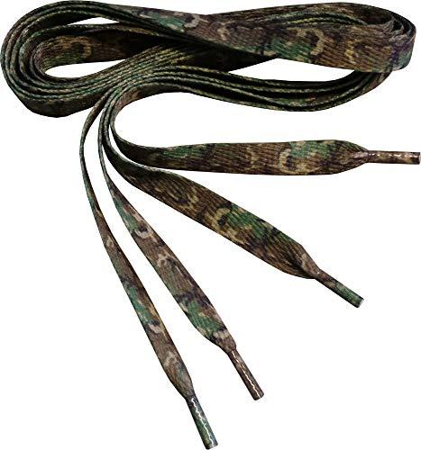 Generic Tarnen Bedruckte Flache Schnürsenkel (Camouflage)