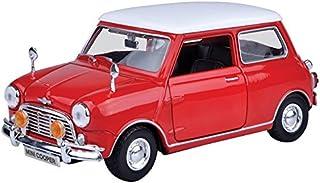 Motormax 73113RD BMW Richmond Toys 1:18 Mini Cooper Original Style Die Cast Collectors Model Car (RED)