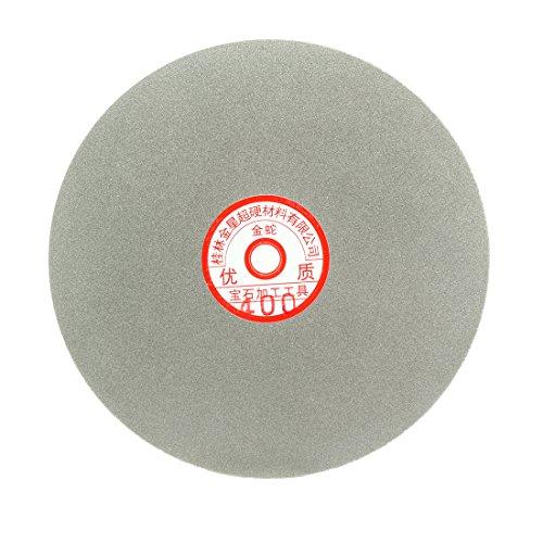 Sourcingmap – Disco de lija de 200 mm con revestimiento de diamante de grano 400