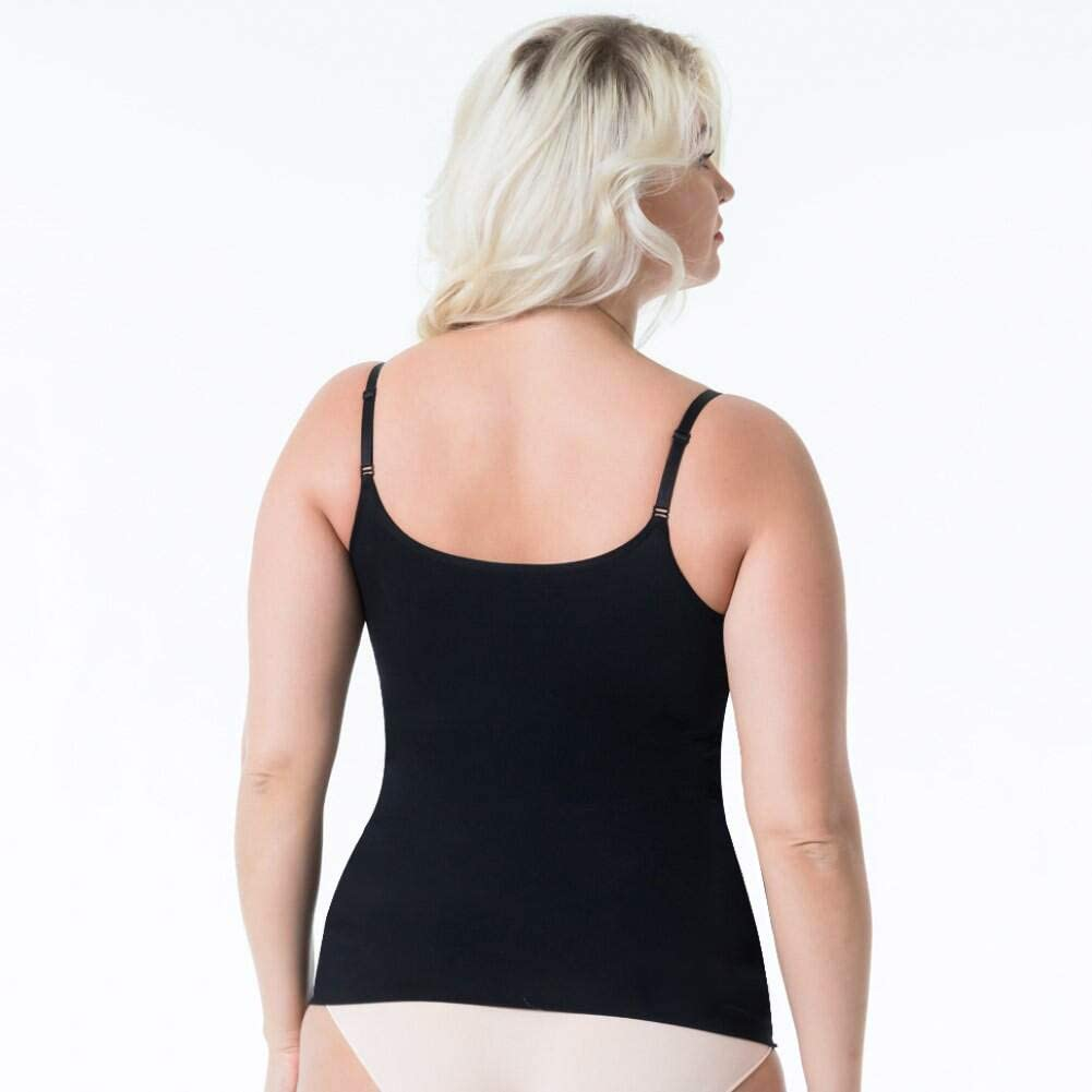 OLCHEE Womens 3PACK Shapewear Tank Tops Tummy Control Seamless Slimming Body Shaper Top Regular and Plus Size