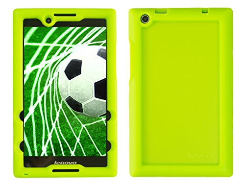 Bobj for Lenovo Tab 2 A8-50, A8-50F, also fits Lenovo Tab 3 TB3-850F, TB3-850M – BobjGear Protective Tablet Cover (Gotcha Green)