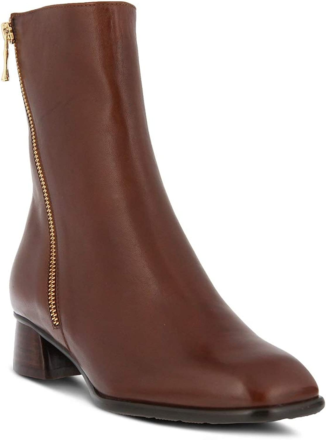 Spring Step Women's Giachetta Bootie   color Brown   Leather Bootie