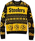 NFL Pittsburgh Steelers Mens 2019 Ugly Sweater, Team Color, Large