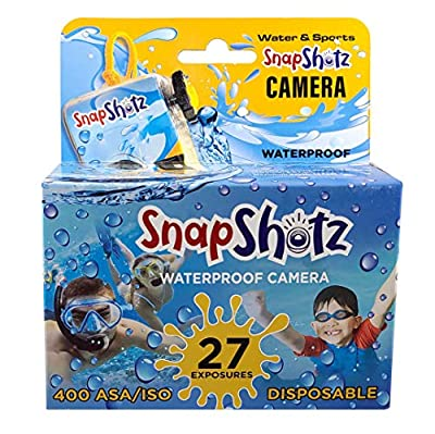 SnapShotz Disposable Waterproof Pool Underwater 35mm Camera by SnapShot