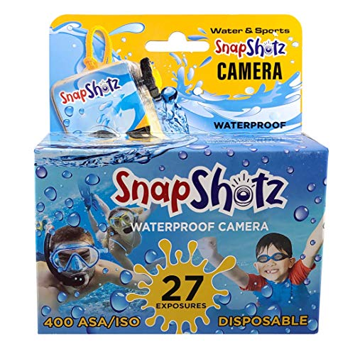 SnapShotz Disposable Waterproof Pool Underwater 35mm Camera