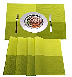 WANGCHAO Placemats, Heat-Resistant Placemats