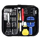 CML 147 Teile Uhr reparaturwerkzeug kit Metall Einstellung Set Band case Opener link Feder bar Remove Watchmaker Tools für Uhr