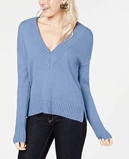 Bar III V-Neck Ribbed Sweater