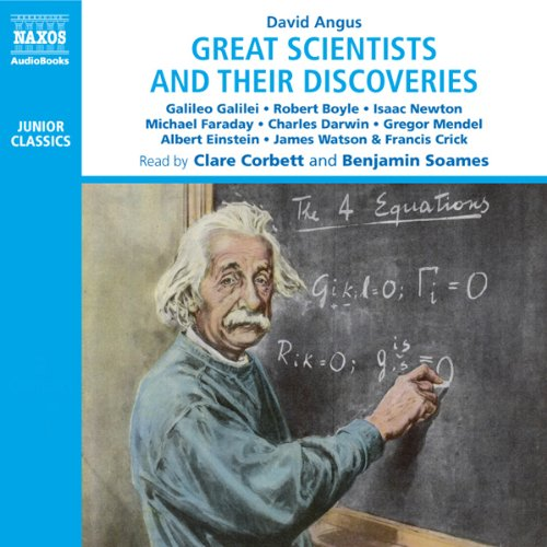 Great Scientists and Their Discoveries audiobook cover art