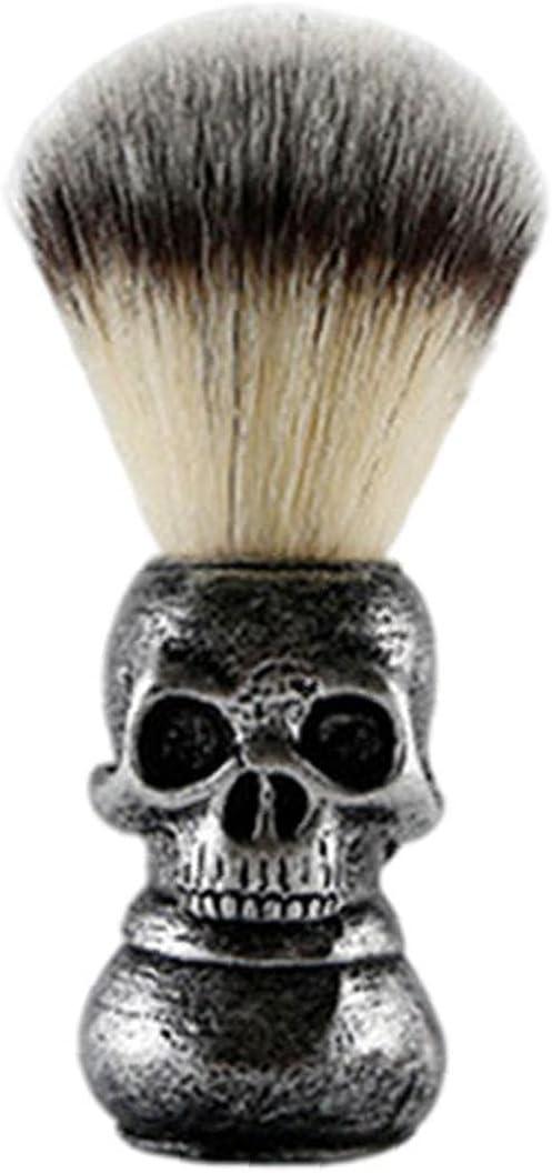 Hainice Hair Shaving Bargain sale Brush Handle Soap Skull Soft Beard Max 68% OFF Grooming