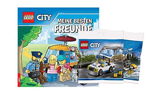 LEGO City - I miei migliori amici + 1° borsa da gioco - libro dell'amicizia City Set da costruire diversi sacchetti