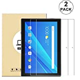 KTtwo (2 Pack Lenovo Tab 4 10 Screen Protector Glass, 9H Hardness Tempered Glass Anti-Scratch Bubble-Free Screen Protector for Lenovo Tab 4 10 10.1' Tablet