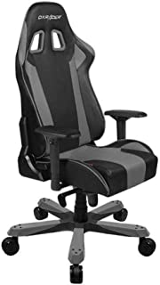 DXRacer OH/KS06/NG Ergonomic, High Quality Computer Chair for Gaming, Executive or Home Office King Series Gray / Black
