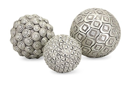 Imax Nahara Silver Balls - Set of Three
