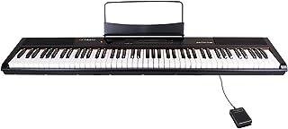 Artesia 電子ピアノ 88鍵 軽量スリム設計 電池駆動対応モデル PERFORMER/BK ブラック (サスティンペダル付属)...