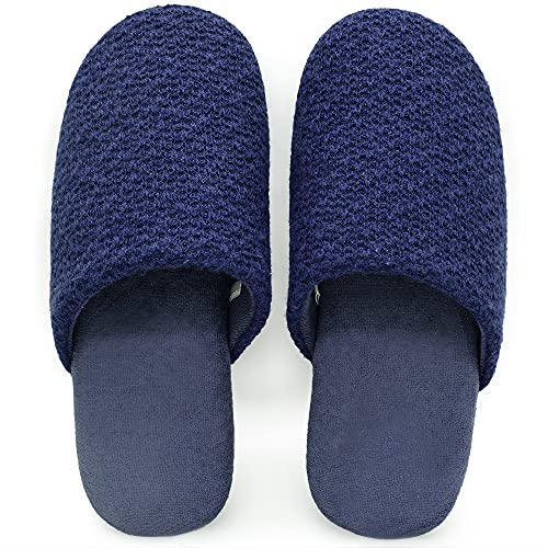 YOUJUMP 室内スリッパ ルームシューズ レディース メンズ 人間工学デザイン 素足履く 静音 軽量 綿 滑り止め 男女兼用 履き心地良い 洗濯可