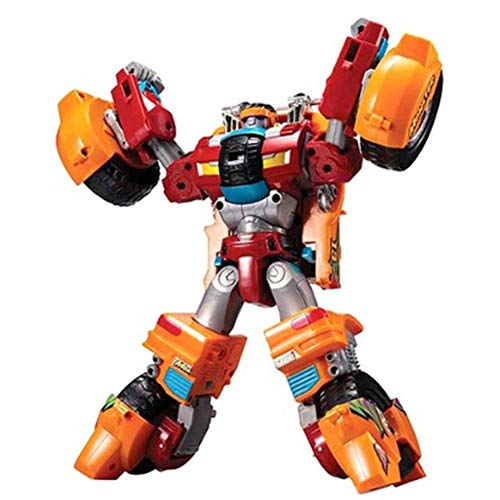 Young Toys Tobot V Moster - Korean Animation Robot Character - Transformer Robot and car