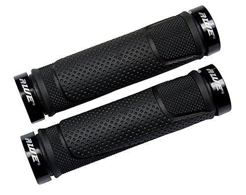 AWE AWEGrip Alloy BMX MTB Bicycle Handlebar Locking Grips (Black)