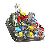 Coche de carreras de juguete, equipo de rescate, aventura, rail rail track, juego de mini pull trasero, juguete para niños, rompecabezas, juguete interactivo, regalo para niños