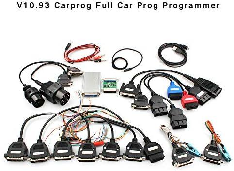 Newest Version V10 93 Carprog Full Cables Car Prog Programmer Car ECU PROG Programmer With All product image