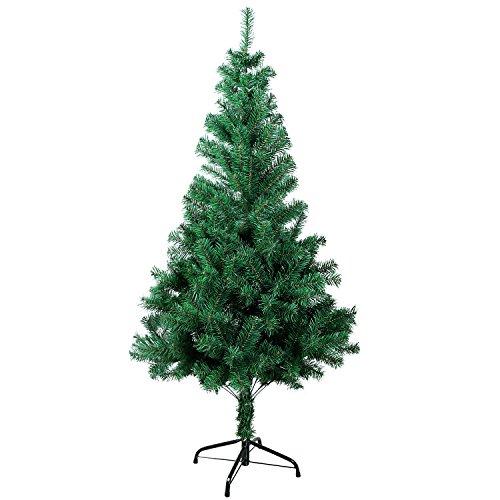 Gotoll Árbol de Navidad Artificial de Pino 180cm,600 Ramas con Soporte Metálico...