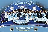 Manchester City - League Cup Winners 15/16 - Sport Poster