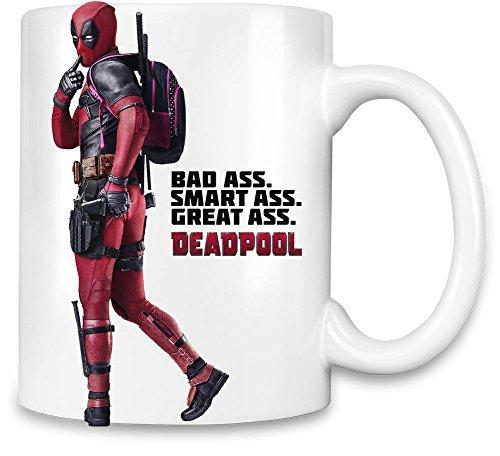 VEHFA Funny Kaffee Tassen, Deadpool Tolles Ass Einzigartige Kaffee Tasse 312