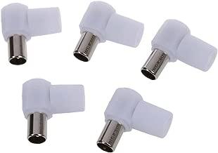 EdBerk74 Mini Cable Stick Adapter Antena USB DVBT DVBT Sintonizador de TV para coaxial a MCX Aerial Connec a USB DVB-T TV Receptor