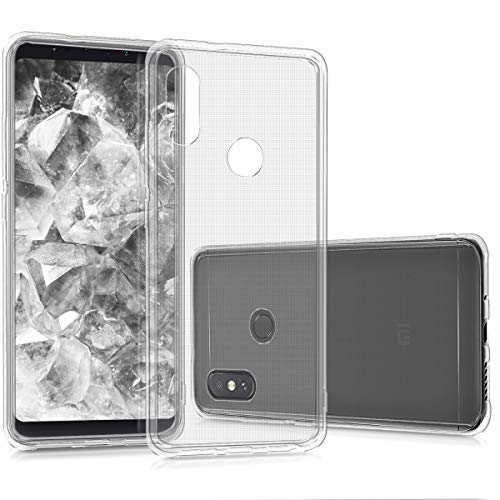kwmobile Hülle kompatibel mit Xiaomi Mi Mix 2S - Handyhülle - Handy Hülle in Transparent