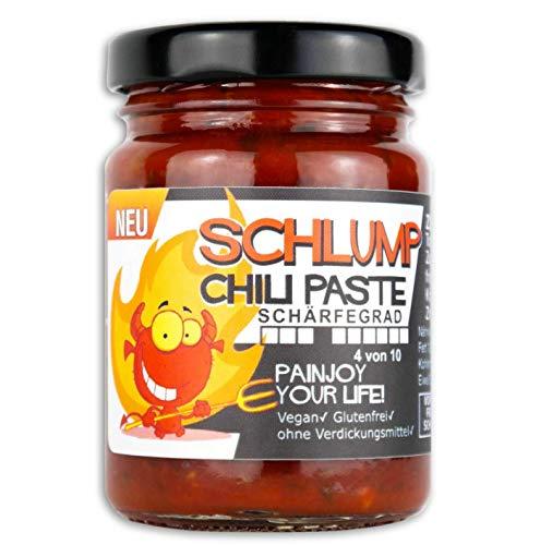 Schlump-Chili Paste⎥mittelscharfe Habanero-Chili Paste mit Ingwer (1 x 90g)