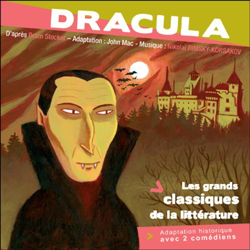 Dracula [French Version] audiobook cover art