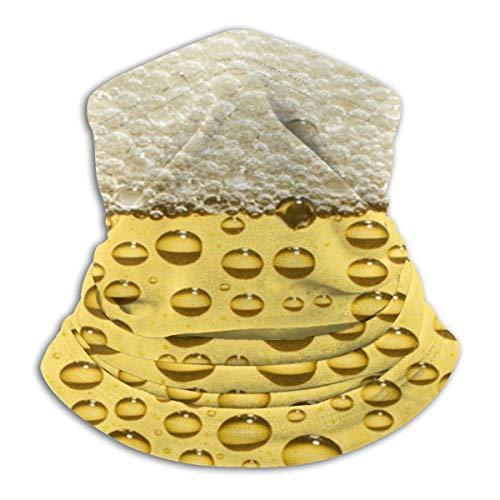 Beer Drink Food Unisex Fleece Neck Warmer Face Warmer Tube Neck Scarf Neck Gaiters