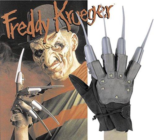 Freddy Krüger Hand Handschuh Halloween Friday the 13th on Elmstreet