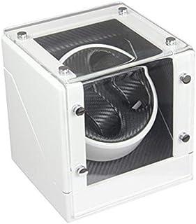 WYFX - Reloj Shaker Turn Watch Shake Watch Caja de bobinado automático Caja de Reloj mecánico Caja de Regalo Moda