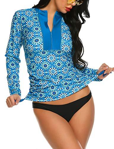 Balancora Damen Badeanzug Surf Shirt...