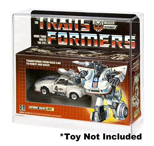 Action Figure Authority Transformers Cars Acrylic Display Case