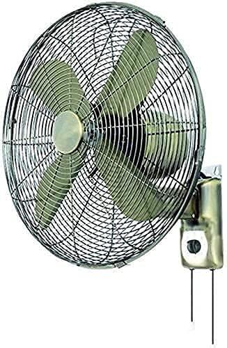 YGCBL Hogar Shaking Head Desktop Fan Industrial -Vintage Metal Wall Fans-Control Remoto Tiempo Antiguo Hogar Sacudida Cabeza Ventilador eléctrico