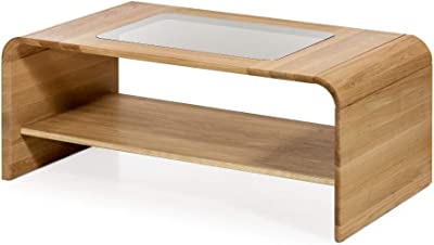 Tavolino sollevabile con riviste per sala da pranzo salotto Premier MC-3 tavolino ausiliare in colore bianco o rovere CAMBIA TUTTI MOBLES