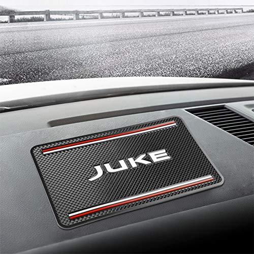 LIBO Tapis de Voiture 1 pièces Tapis antidérapant de Voiture Support de téléphone Tapis antidérapant Tapis antidérapant pour Nissan Juke Accessoires Voiture-Style