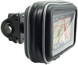 Arkon Bike or Motorcycle Handlebar Mount with Water-Resistant Holder for Garmin TomTom Magellan GPS Retail Black