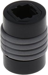 Ronyme Acoplador de áudio óptico TOS-Link Fêmea para Fêmea Conector Adaptador Soquete