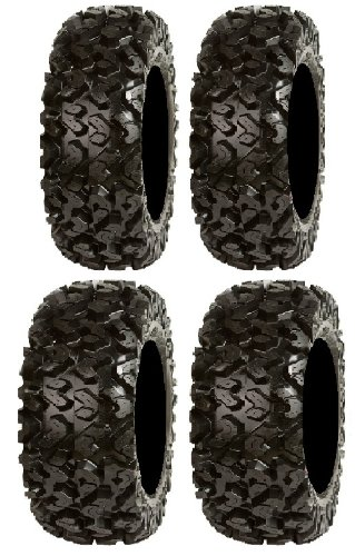 Full set of Sedona Rip Saw 26x9-14 and 26x11-14 ATV Tires (4)