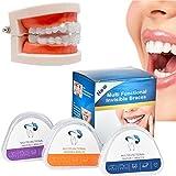 Alineadores Dentales, Entrenador de Aparatos de Ortodoncia de Dientes Soporte de Alineación Profesional Boquilla Retenedor de Dientes para el Cuidado de Los Dientes de Adultos (3 Etapas)
