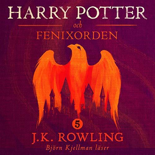 Harry Potter och Fenixorden audiobook cover art